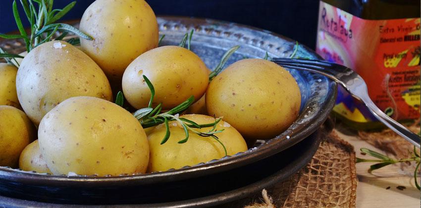 سیب زمینی ماده خوارکی کاهش دهنده وزن