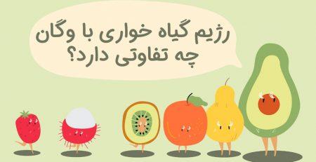 رژیم گیاه خواری با رژیم وگان چه تفاوتی دارد؟