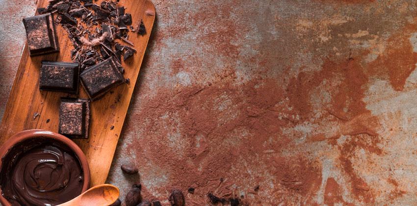 شکلات تلخ کم کربوهیدرات است