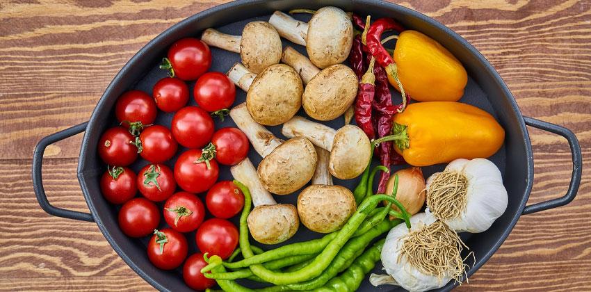 سبزیجات فیبر بالایی دارند