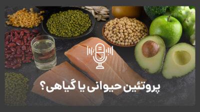 پروتئین حیوانی بخوریم یا گیاهی؟